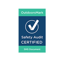 OutdoorsMark – Safety Audit Certified